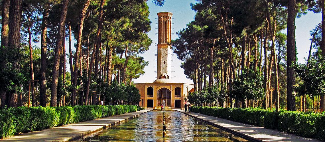 باغ دولت آباد از جاذبههای تاریخی شهر یزد